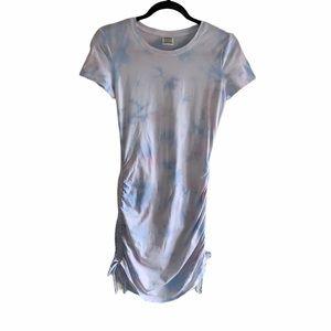 PINK Victoria's Secret Drawstring Side Tee Dress